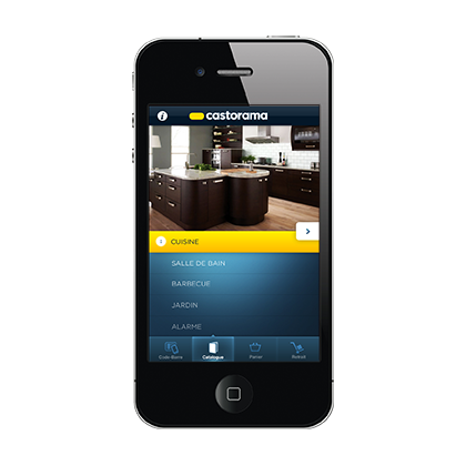 Digitalstuff freelances web et mobile for Castorama application